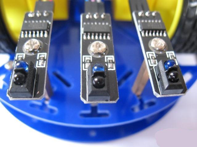 Arduino Code For Ir Sensor Line Follower: Arduino line